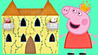 Princess PEPPA PIG Palace Party with Sir Georges Magical Carriage