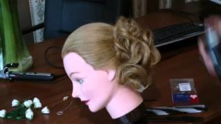 Запись урока | Шишка | Авторские причёски | Лена Роговая | Hairstyles by REM | Copyright ©
