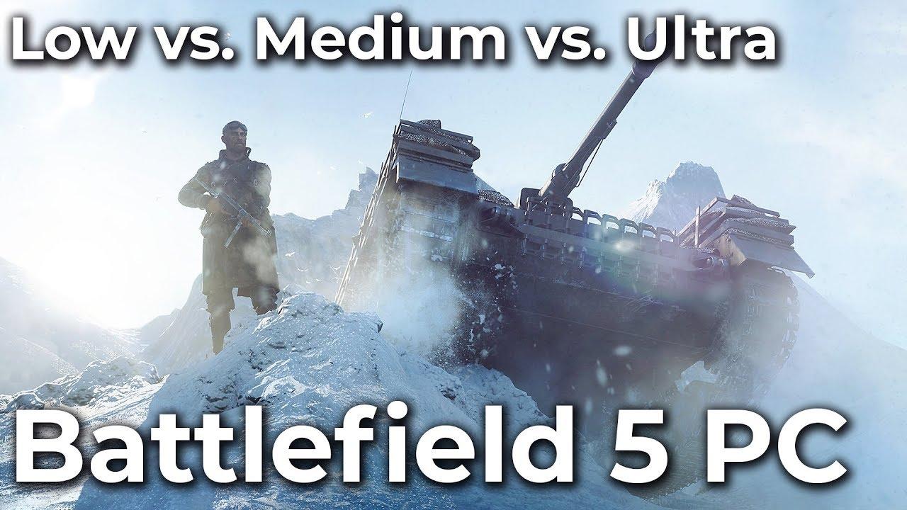 Посмотрите, как Battlefield 5 работает на минималках и ультра-графике на Ryzen 2700X и RTX 2080Ti — видео