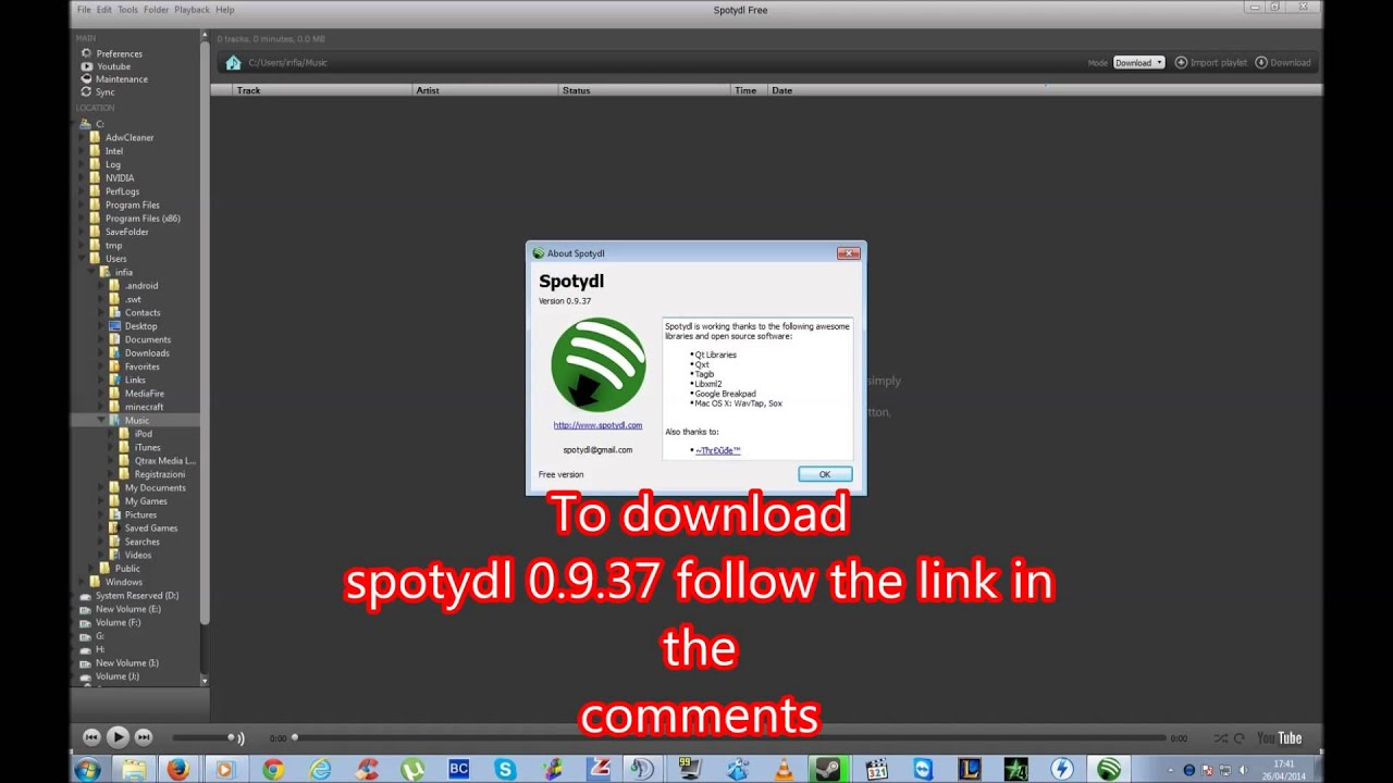 spotydl free download