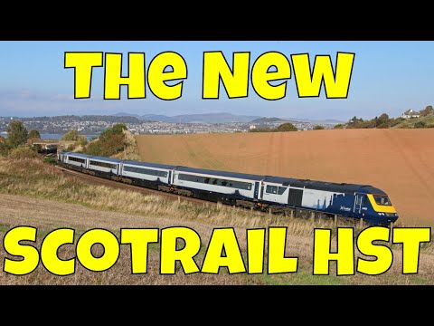 The New ScotRail Class 43 HST
