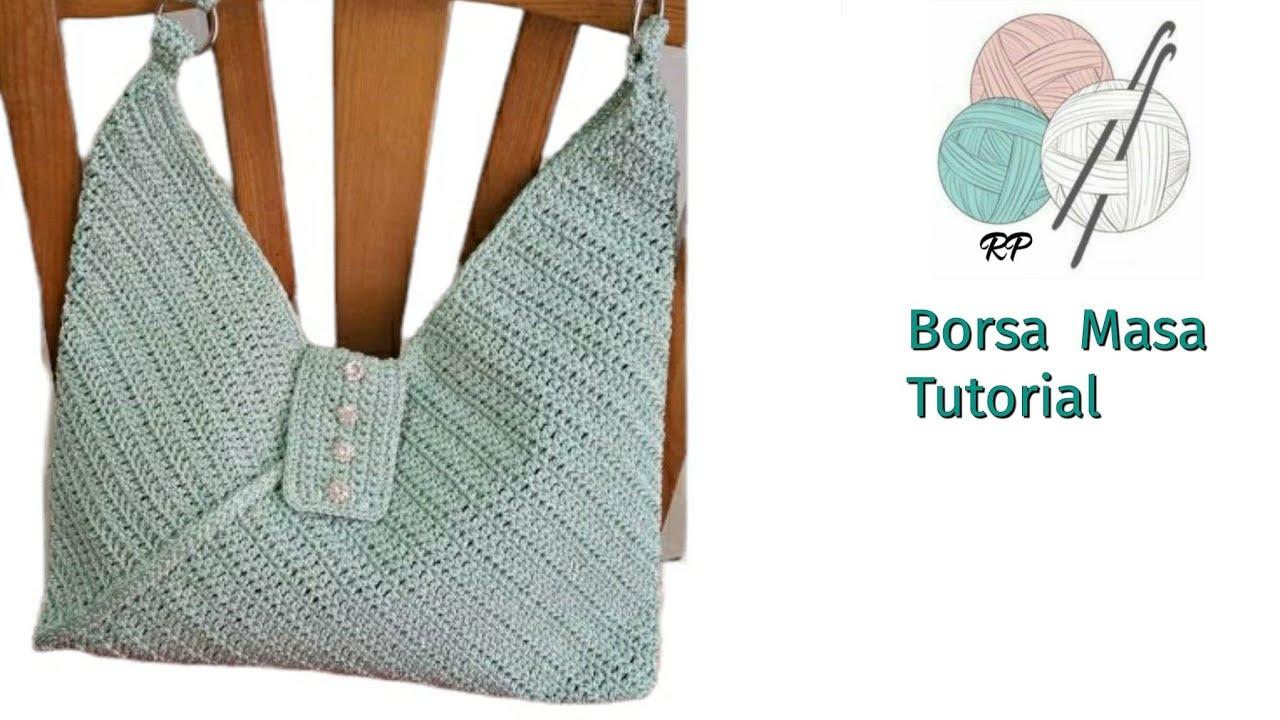 wallet on a chain chanel replica - BORSA MASA UNCINETTO 1a parte/CROCHET BAG MASA - YouTube