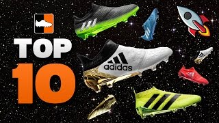 Top 10 adidas space boots! x16, ace16 & messi16 cleats