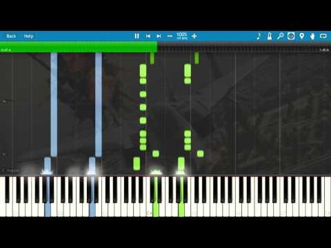 Ace Combat: Assault Horizon - Dogfight - Piano Tutorial (Synthesia)