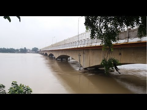 Gorakhpur Nausad flood 19-08-2017 full coverage water level  reached above the danger point