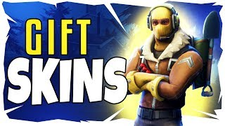 *NEW* GIFTING SYSTEM IN FORTNITE UPDATE | LEAKS | PAY TO GIFT SKINS? | HOW TO GIFT SKINS IN FORTNITE