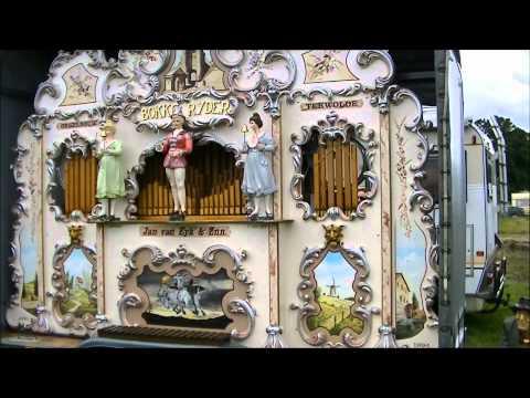 Lady Gaga Bad romance on Dutch Street Organ Stradbally Steam rally 2012