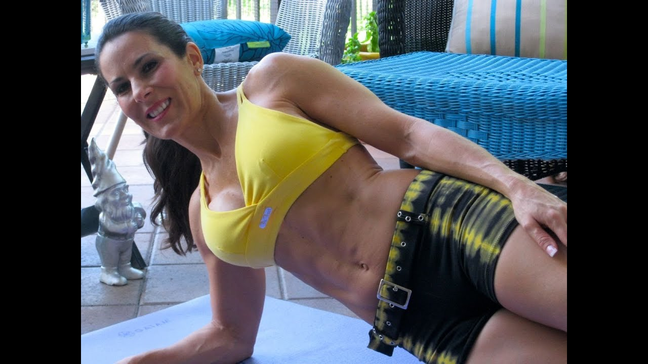 AB Side Plank - One Minute Exercises with Laura London