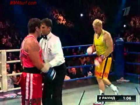 Dolph Lundgren VS Oleg Taktarov  Real Boxing Match complete