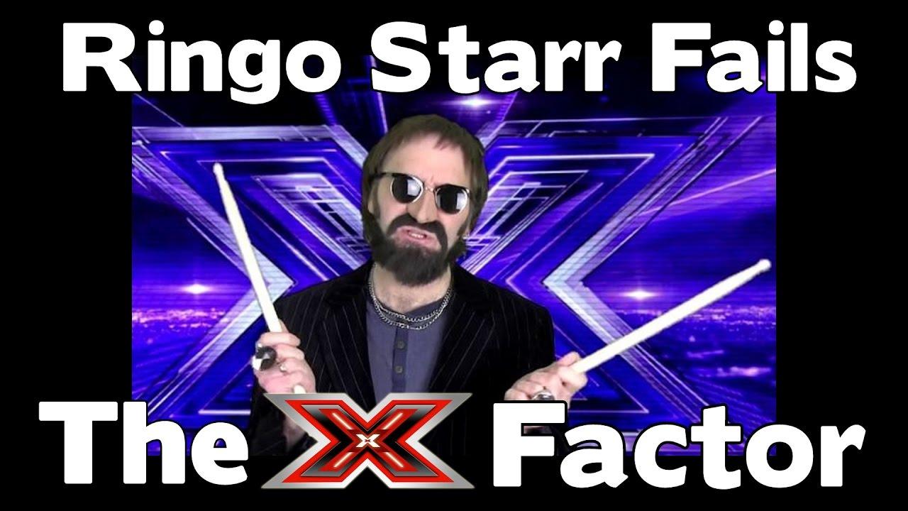 SO FUNNY!!! - RINGO STARR Fails The X Factor - YouTube