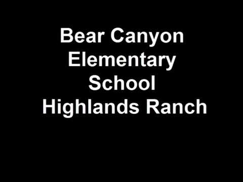 Bear Canyon Elementary School Highlands Ranch
