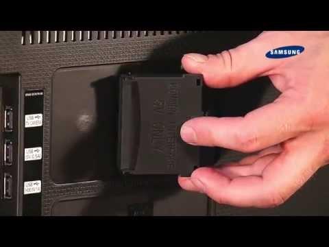 Samsung TV 2014 - 02 Lieferumfang, Aufbau Und Anschlüsse