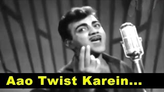 Aao Twist Karein - Super Hit Hindi Song - Manna Dey @ Bhoot Bungla - Mehmood, Tanuja