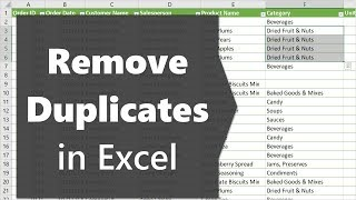 2 Façons de Supprimer les Doublons pour Créer une Liste de Valeurs Uniques dans Excel
