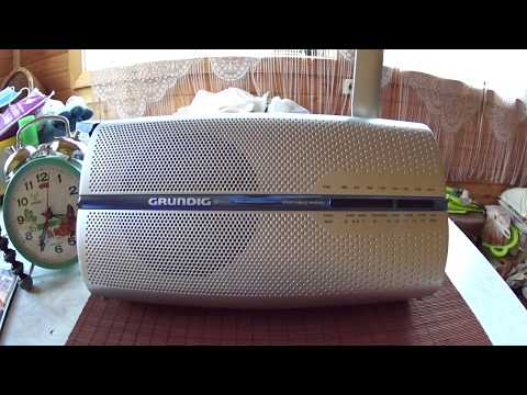 Grundig Music Boy 50 RP 5200 Radio Quick Review and Shortwave, MW and FM Scans