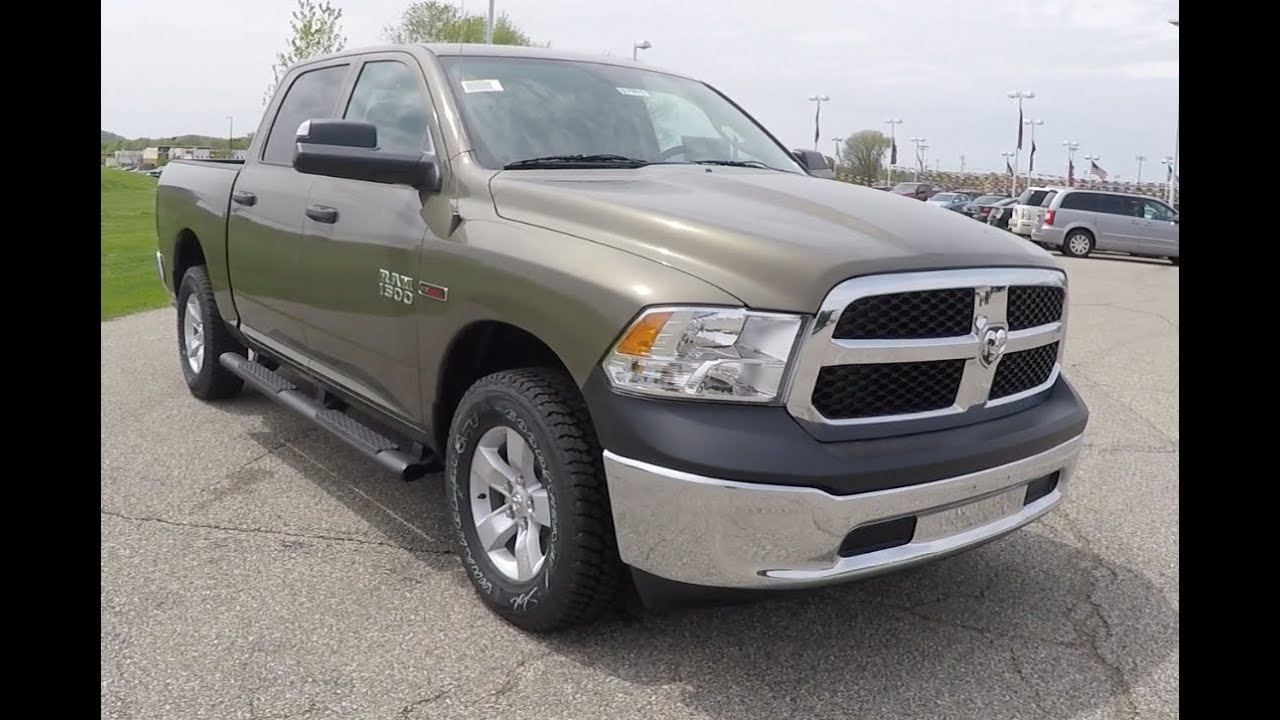 2015 ram 1500 tradesman crew cab 4x4 ecodiesel 17901 youtube. Black Bedroom Furniture Sets. Home Design Ideas