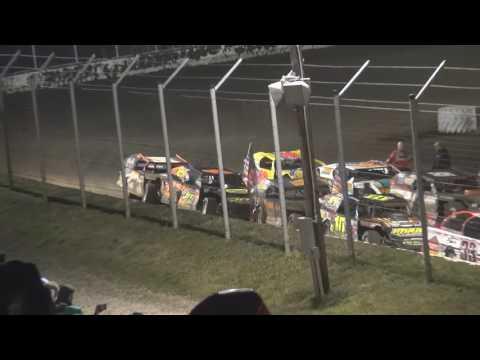 King of America VII Humboldt Speedway Gustin Wins