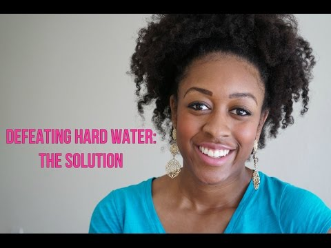 HARD WATER: The Solution!