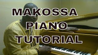 How to Play Makossa Praise on piano like a professional - licks and progression