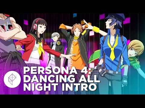 Watch Persona 4: Dancing All Night's entire bubbly, animated intro