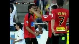 Gol de Juan Arango   R C D  Mallorca VS F C Barcelona   2008