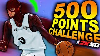 The FLASH Goes For 500 POINTS In NBA 2K20.. FASTEST PLAYER OF ALL-TIME Scores HOW MANY!?