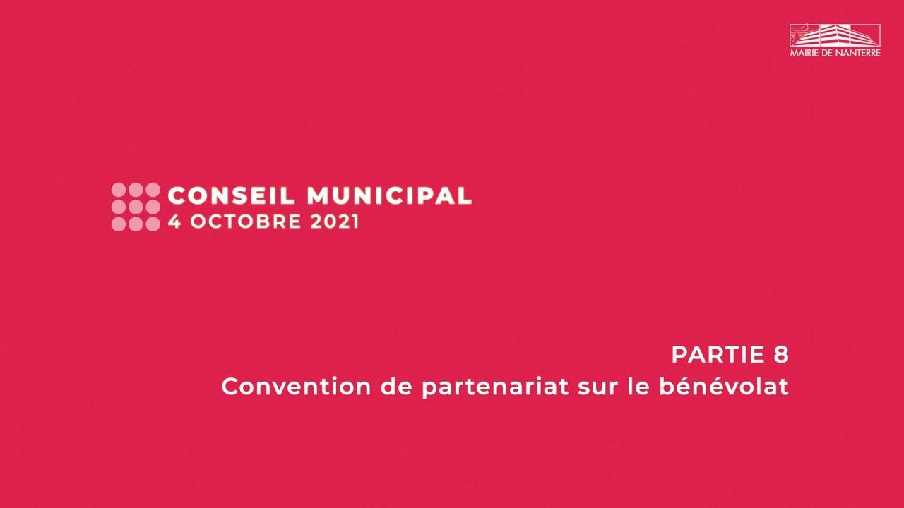Conseil municipal du 4 octobre 2021 - PARTIE 8