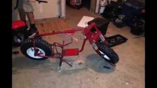 Manco Thunderbird Mini Bike Build