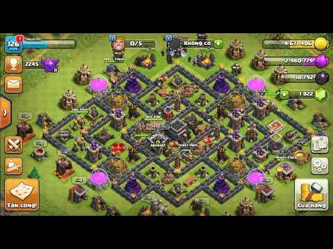 NMT| Clash of clans| Hướng dẫn nâng công trình hall 9 hiệu quả