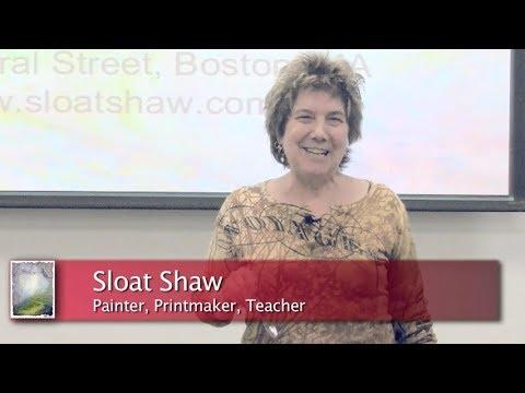 Sloat Shaw  - Tasting Paint Expanding Creativity - Talk at Boston University