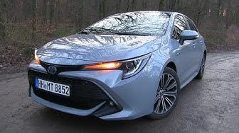 2020 Toyota Corolla 2.0 Hybrid (180 HP) TEST DRIVE