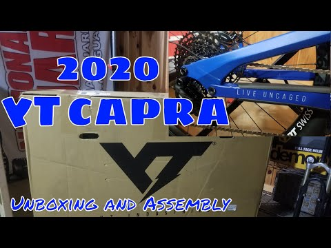 2020 YT Capra Unboxing and Assembly - Base 29