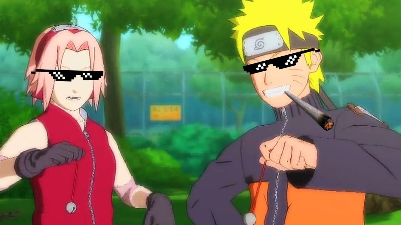 Naruto Amp Sakura Vs Kakashi Gone Mlg Youtube
