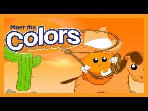 Meet the Colors - Orange