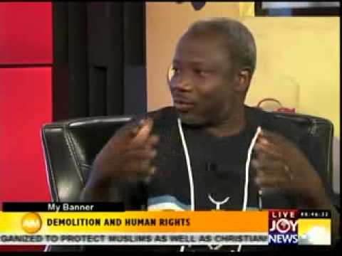DEMOLITION AND HUMAN RIGHTS-MY BANNER ON JOYNEWS (3-2-14)