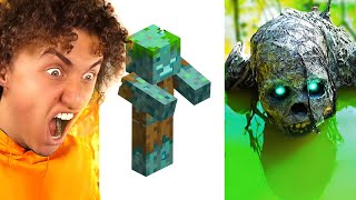 Cursed REAL LIFE Minecraft MOBS!