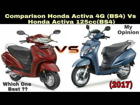 Honda Activa 4G (Bs4) Vs Honda Activa 125cc (Bs4) Full Comparison With My Opinion !!