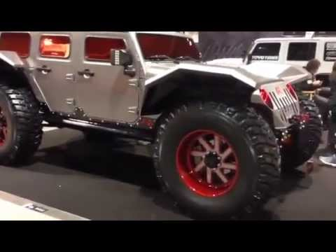 Fab Four The Legend Chopped Custom Jeep Jk Tank Edition