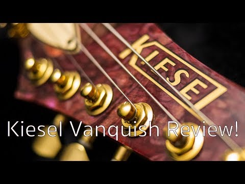BEST GUITAR IN THE WORLD!? Kiesel Vanquish electric guitar review/demo/solo STEVE HUGHES