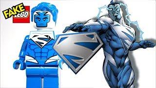Unofficial Lego Superman Blue DC Comics Version Custom Minifigure Bricks