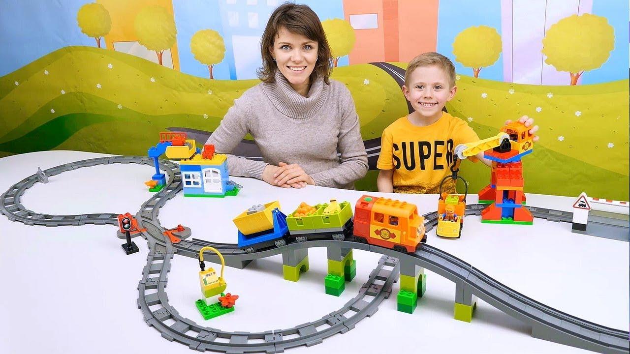 знакомства детей с железной дорогой