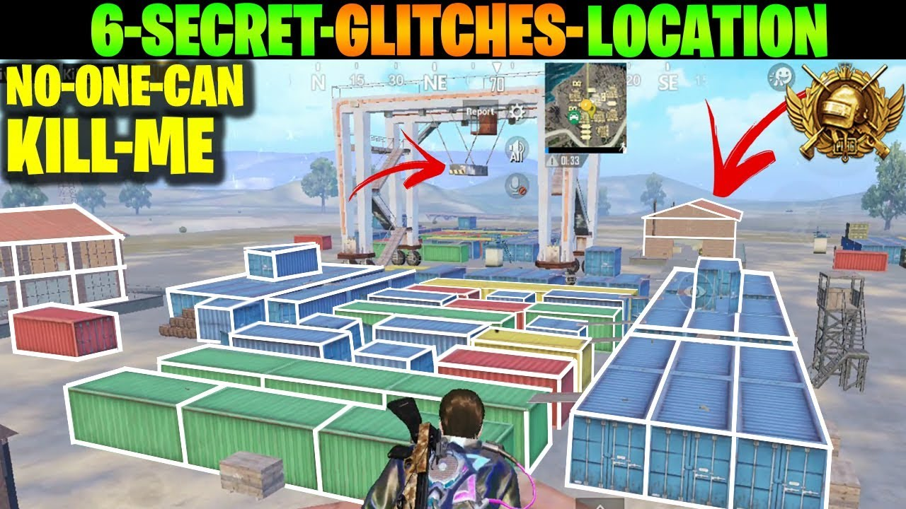 How CONQUEROR Players Plays in GEORGOPOL CONTAINERS 6 Secret Glitches and Location Tips Tricks PUBG