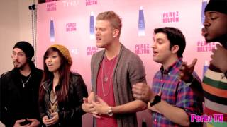 "Pentatonix - ""Angels We Have Heard on High (Perez Hilton Performance)"""