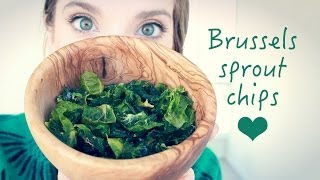 DIY: BRUSSELS  SPROUT CHIPS!