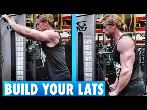 Build your LATS with Straight Arm Pulldowns | Exercise Tutorial