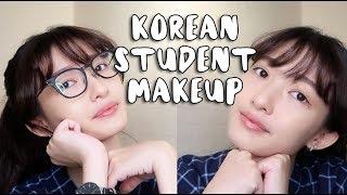 BACK TO SCHOOL / KOREAN STUDENT MAKEUP ROUTINE - Cindy Thefannie (BAHASA)