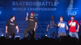 4xSample vs TwenTeam8 - Final - 4th Beatbox Battle World Championship