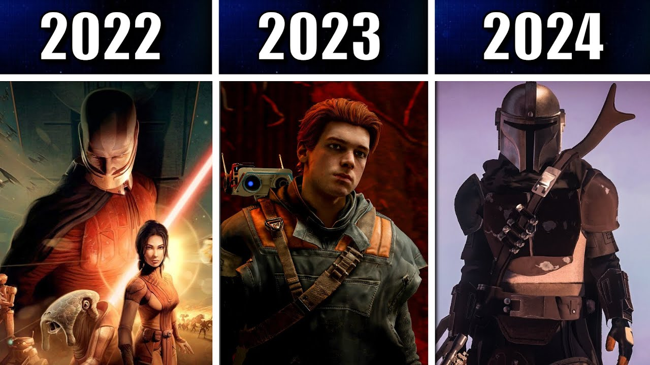Every Upcoming Star Wars Game from 2021 - 2024!