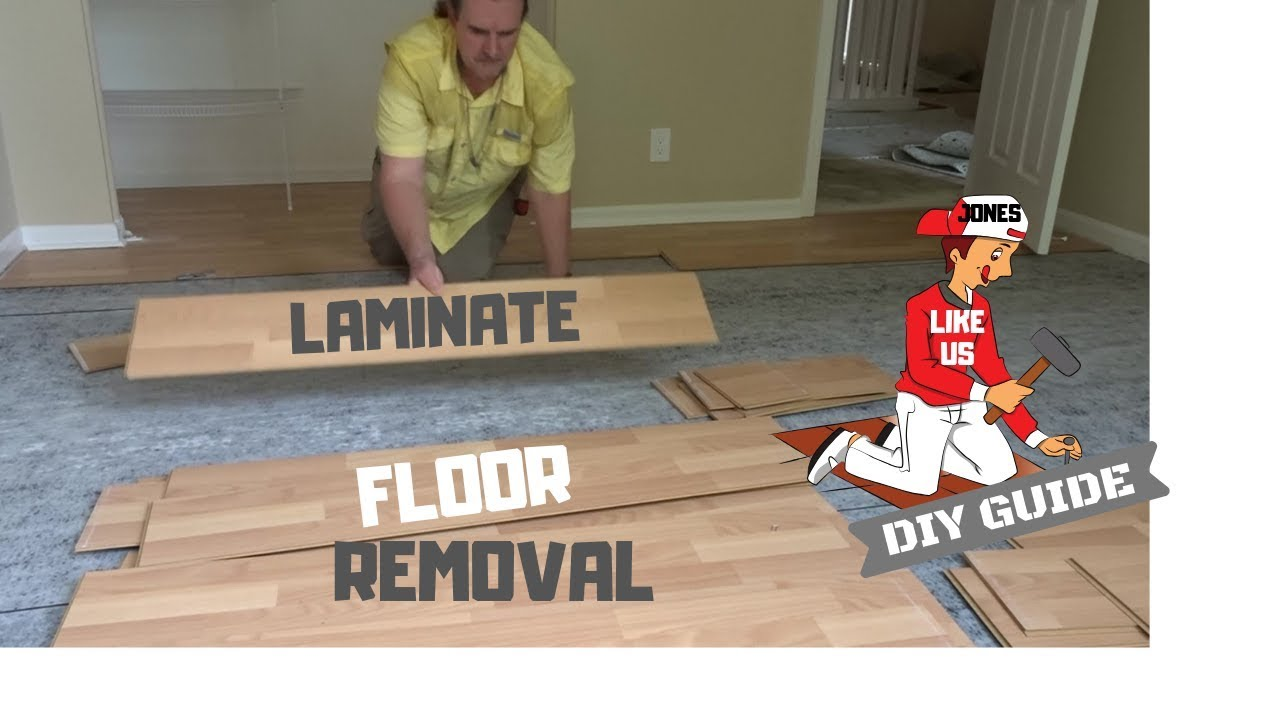 Diy Laminate Flooring Removal How To