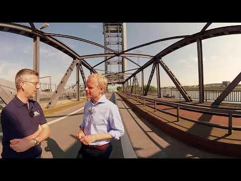 The history of Hamburg's  Rethe Bridge in 360°